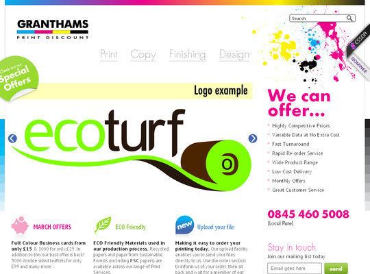 45 Examples Of Websites Designed With HTML5 20
