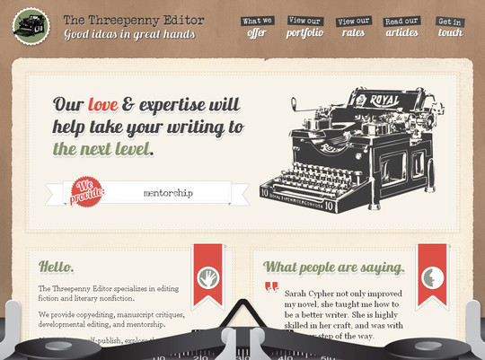 45 Examples Of Websites Designed With HTML5 22