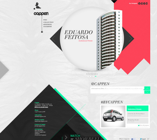 45 Examples Of Websites Designed With HTML5 23
