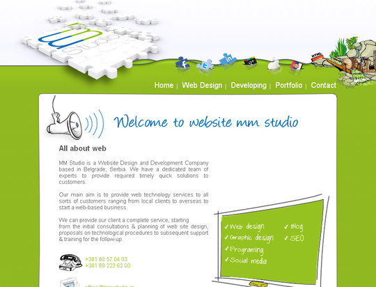45 Examples Of Websites Designed With HTML5 24