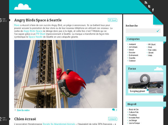 45 Examples Of Websites Designed With HTML5 26
