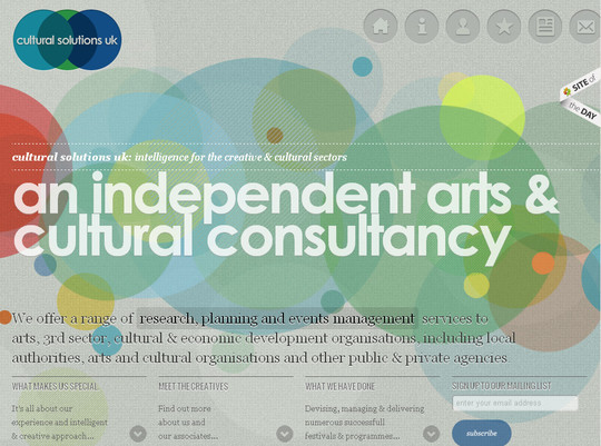 45 Examples Of Websites Designed With HTML5 36