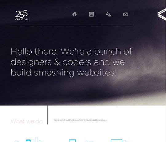 45 Examples Of Websites Designed With HTML5 40