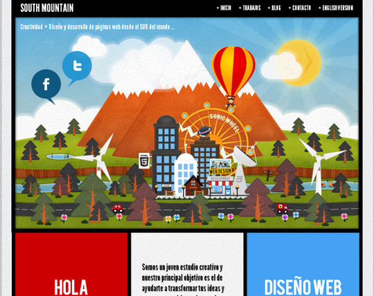 45 Examples Of Websites Designed With HTML5 42
