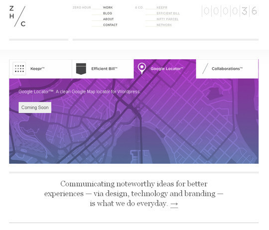 45 Examples Of Websites Designed With HTML5 44