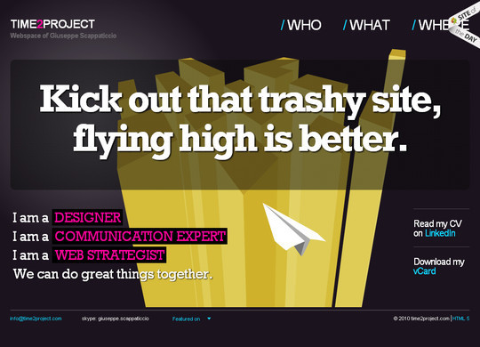 45 Examples Of Websites Designed With HTML5 45