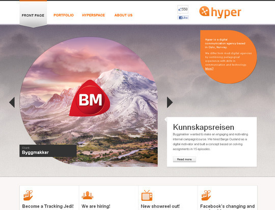 45 Examples Of Websites Designed With HTML5 2