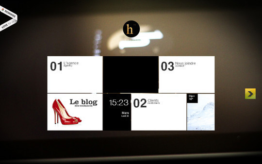 45 Examples Of Websites Designed With HTML5 9
