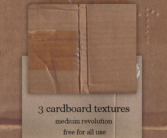 20 Useful And Free Hi-Res Cardboard Textures 4