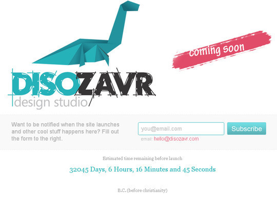 40 Creative Examples Of Coming Soon Page Design 29