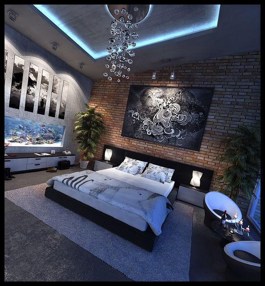 Showcase Of 3D Interior Design Imagination Rendered 3