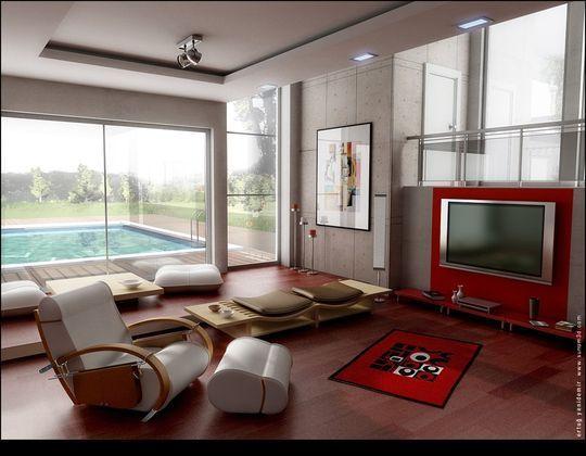 Showcase Of 3D Interior Design Imagination Rendered 17