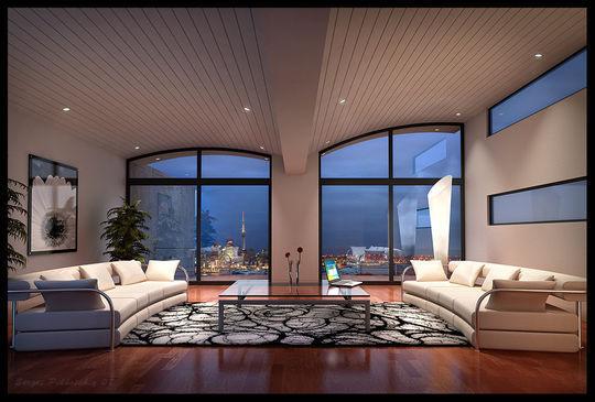Showcase Of 3D Interior Design Imagination Rendered 8