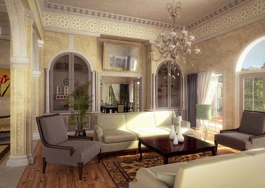 Showcase Of 3D Interior Design Imagination Rendered 30