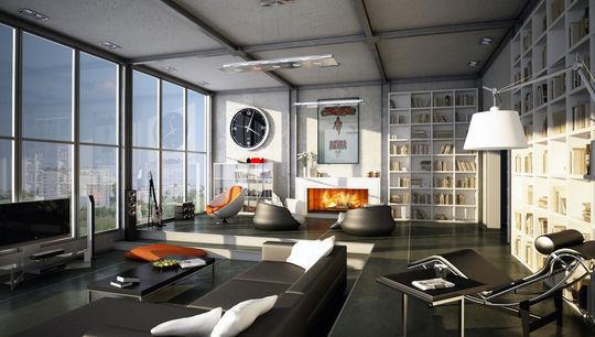 Showcase Of 3D Interior Design Imagination Rendered 32