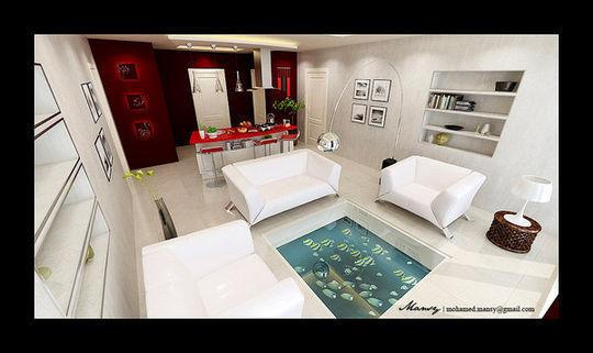 Showcase Of 3D Interior Design Imagination Rendered 37