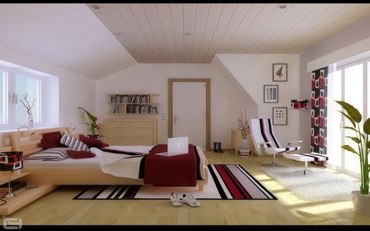 Showcase Of 3D Interior Design Imagination Rendered 39