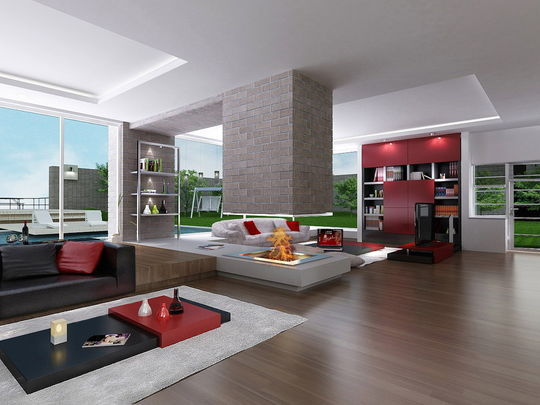 Showcase Of 3D Interior Design Imagination Rendered 40
