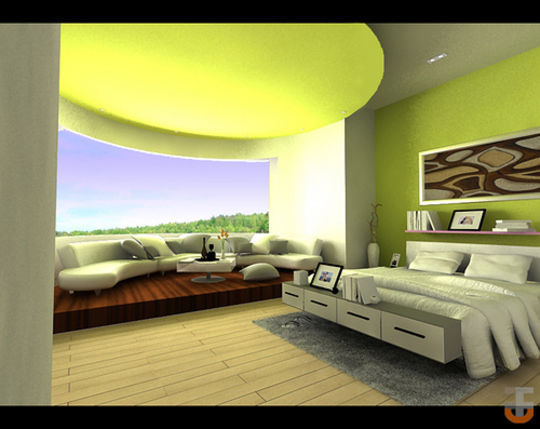 Showcase Of 3D Interior Design Imagination Rendered 41