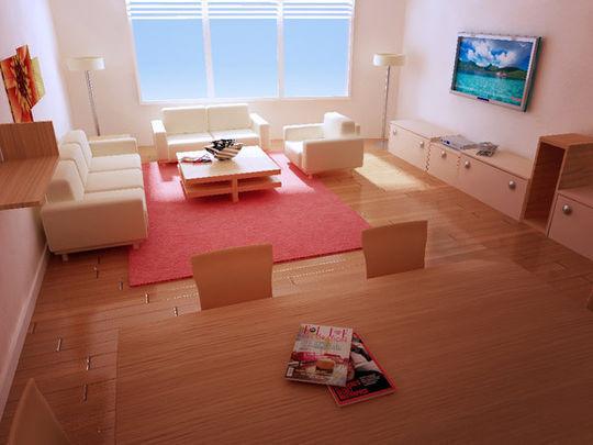Showcase Of 3D Interior Design Imagination Rendered 42