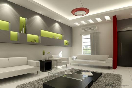Showcase Of 3D Interior Design Imagination Rendered 44