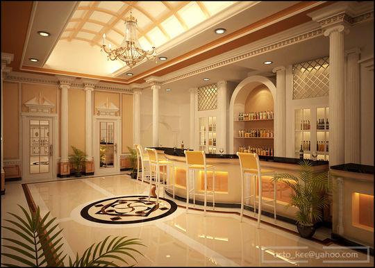 Showcase Of 3D Interior Design Imagination Rendered 11
