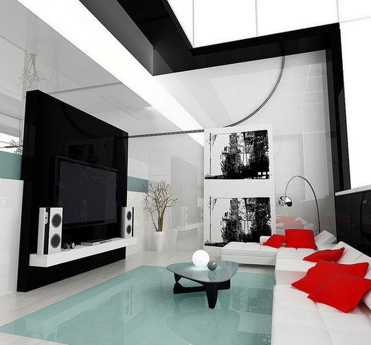 Showcase Of 3D Interior Design Imagination Rendered 12