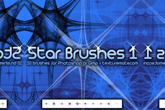 15 Amazing Free Moon And Stars Photoshop Brushes 104
