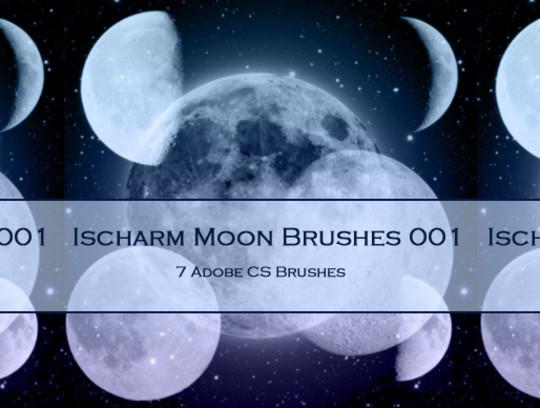 15 Amazing Free Moon And Stars Photoshop Brushes 3