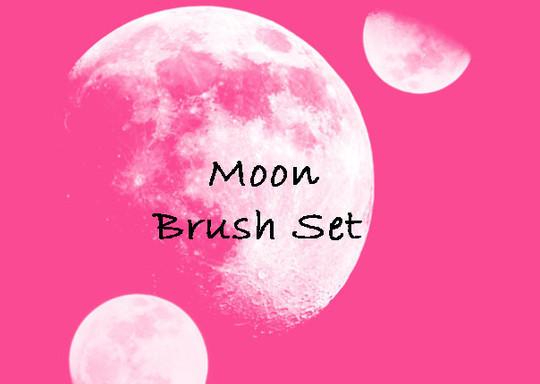 15 Amazing Free Moon And Stars Photoshop Brushes 5