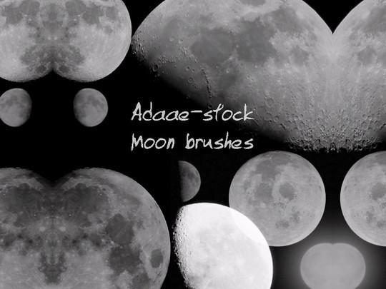 15 Amazing Free Moon And Stars Photoshop Brushes 9