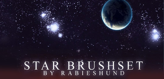 15 Amazing Free Moon And Stars Photoshop Brushes 10