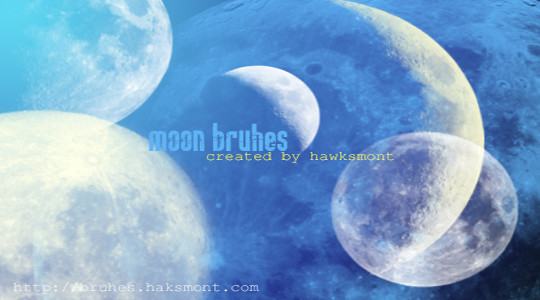 15 Amazing Free Moon And Stars Photoshop Brushes 6