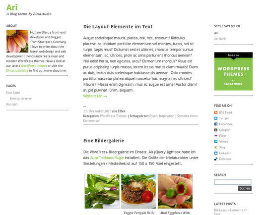 40 Free High Quality Responsive WordPress Themes For Your Blogs 19