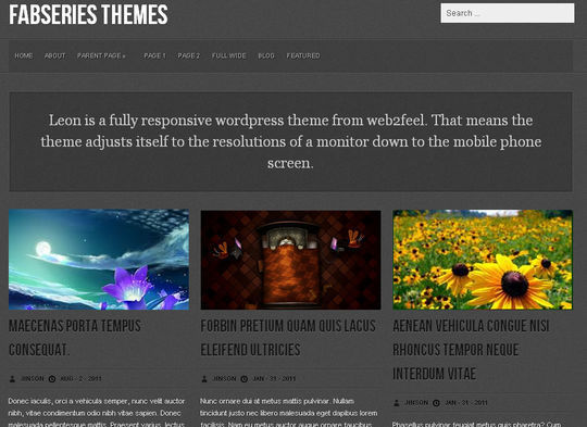 40 Free High Quality Responsive WordPress Themes For Your Blogs 22