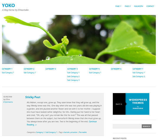 40 Free High Quality Responsive WordPress Themes For Your Blogs 4