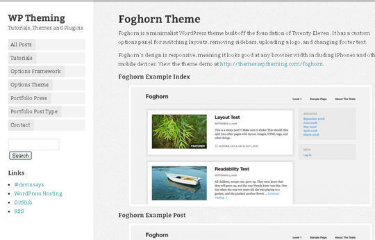 40 Free High Quality Responsive WordPress Themes For Your Blogs 30