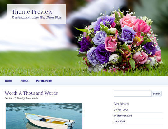 40 Free High Quality Responsive WordPress Themes For Your Blogs 31