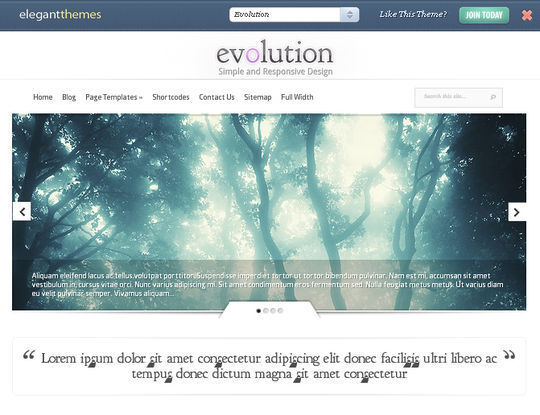 40 Free High Quality Responsive WordPress Themes For Your Blogs 3