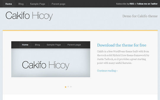 40 Free High Quality Responsive WordPress Themes For Your Blogs 32
