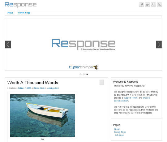40 Free High Quality Responsive WordPress Themes For Your Blogs 34