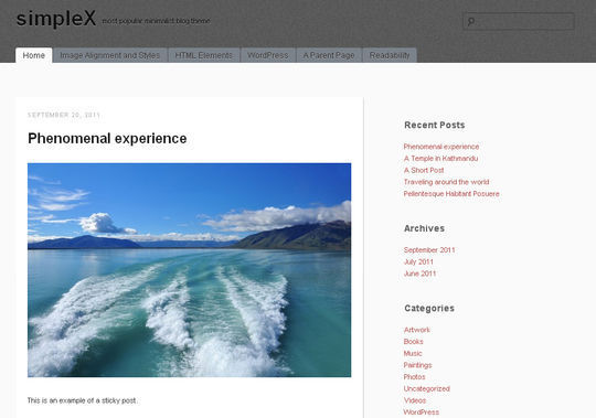 40 Free High Quality Responsive WordPress Themes For Your Blogs 36