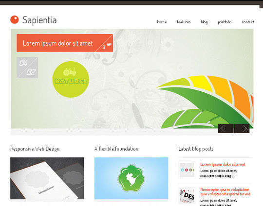 40 Free High Quality Responsive WordPress Themes For Your Blogs 37