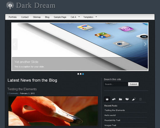 40 Free High Quality Responsive WordPress Themes For Your Blogs 47