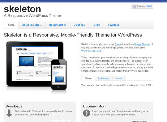 40 Free High Quality Responsive WordPress Themes For Your Blogs 9
