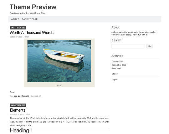 40 Free High Quality Responsive WordPress Themes For Your Blogs 15