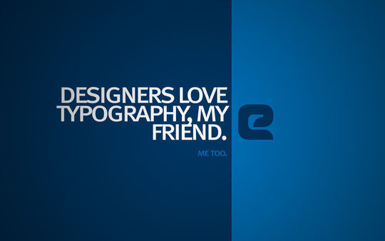 40+ Creative Typography Wallpapers To Spice Up Your Desktop 5