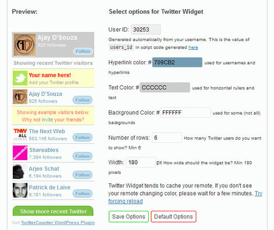 7 Free Tools For Integrating Twitter With Your WordPress Blog 1
