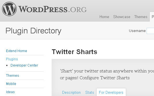 7 Free Tools For Integrating Twitter With Your WordPress Blog 6