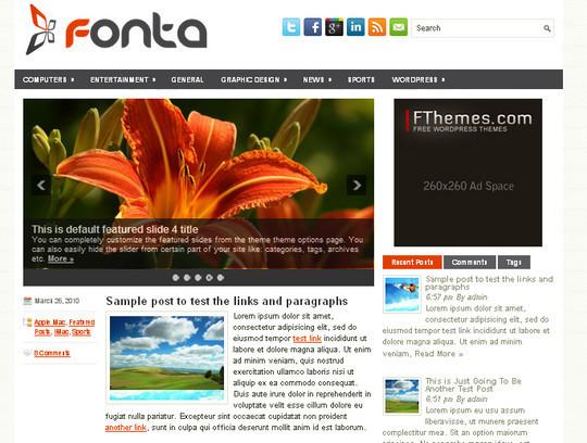 40+ Free Premium Quality WordPress Themes For Your Blog 23